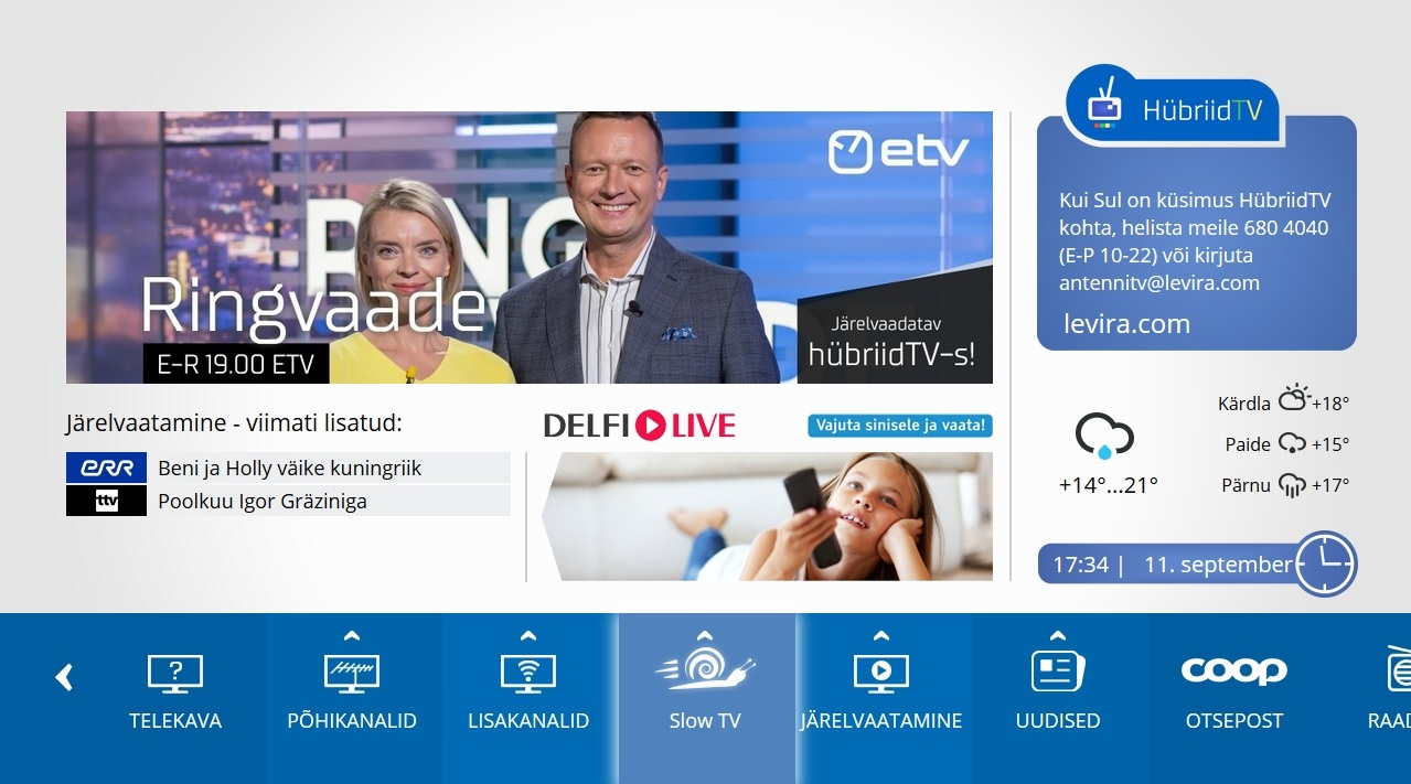 HübriidTV teleplatvorm